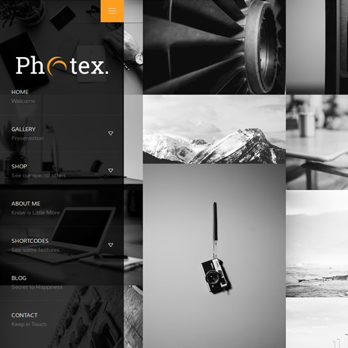 Photex template